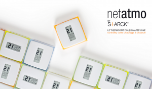 netatmo, thermostat ambiance connecte sans fil android ou IOS